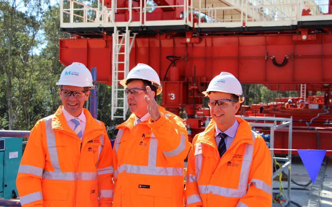 Inspecting the Sydney Metro Northwest